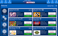 Explore the Mobile Bingo Lobby of Betfred