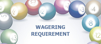 Games contribution to wagering requirements