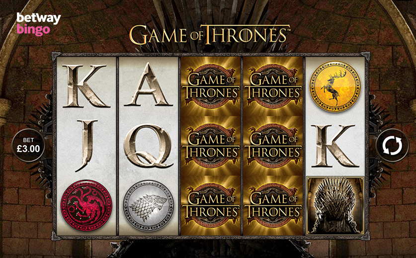 The Microgaming's Exclusive 'Game of Thrones' Slot, large view