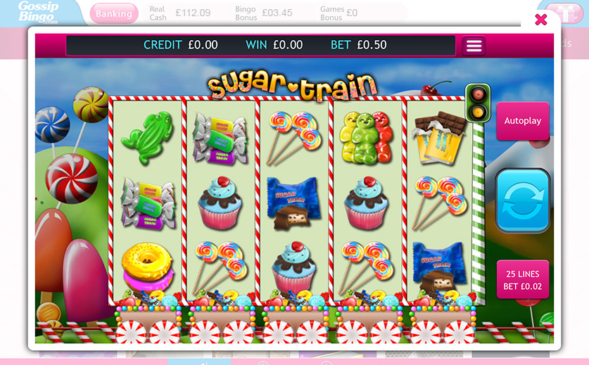 Win Big with the 'Sugar Train' Jackpot Slot, large view