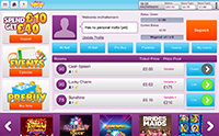 Have a look at Bright Bingo's Mobile Lobby